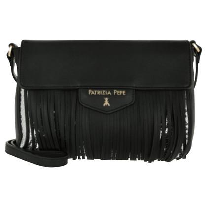 Patrizia Pepe Fringed shopping bag