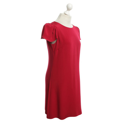 Goat Silk dress in red