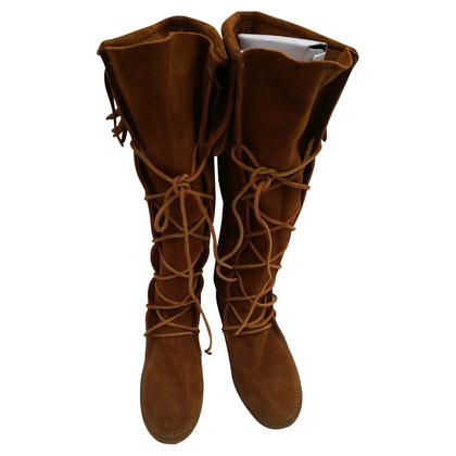 Minnetonka Stivali a Brown