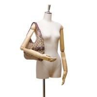 Gucci Horsebit Jacquard Shoulder Bag