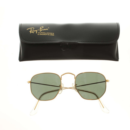 Ray Ban Sunglasses in gold color