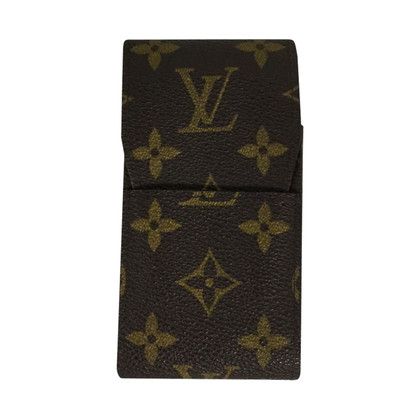 Louis Vuitton Zigarettenetui aus Damier Ebene Canvas