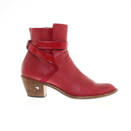 Lala Berlin Ankle boots in red