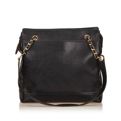 Chanel Caviar Chain Shoulder Bag