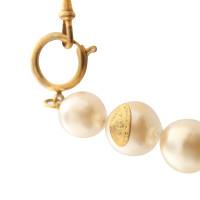 Chanel collana di perle con ciondolo
