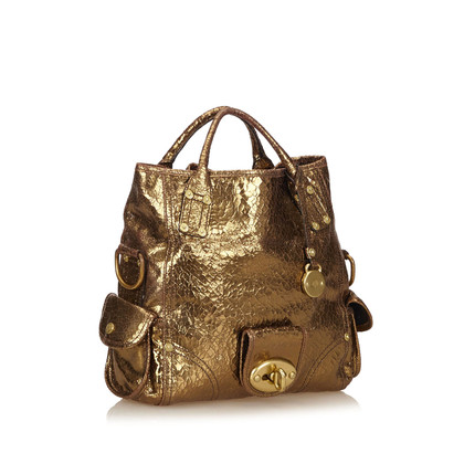 Mulberry Borsa metallica in pelle