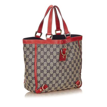 Gucci Cbdb0402 Jacquard Tote Bag