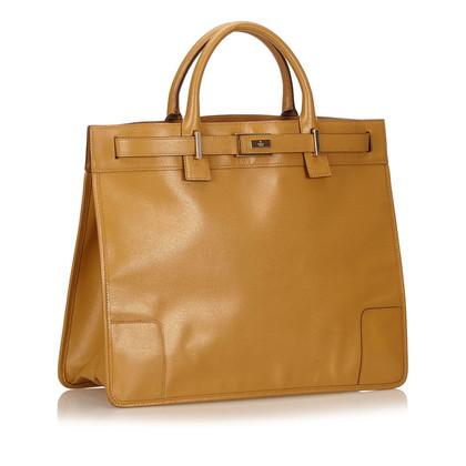 Gucci Leren Tote Bag