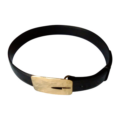 Gucci Nubuck leather belt