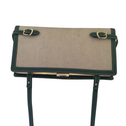 Bally Handtasche aus Canvas/Leder