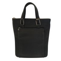 Lancel sac à main en cuir noir