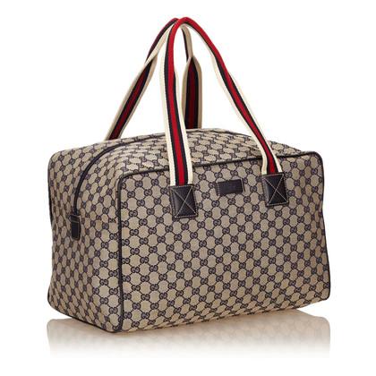 Gucci Guccissima Jacquard Duffel Bag