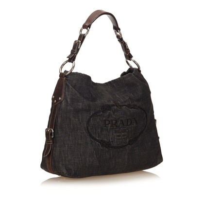 Prada Denim Shoulder Bag