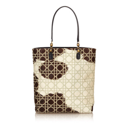 Christian Dior Cannage Tote Bag