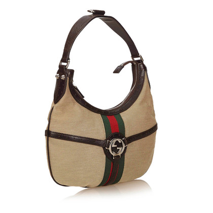 Gucci Reins Web Shoulder Bag