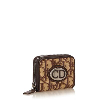 Christian Dior Jacquard Coin Pouch