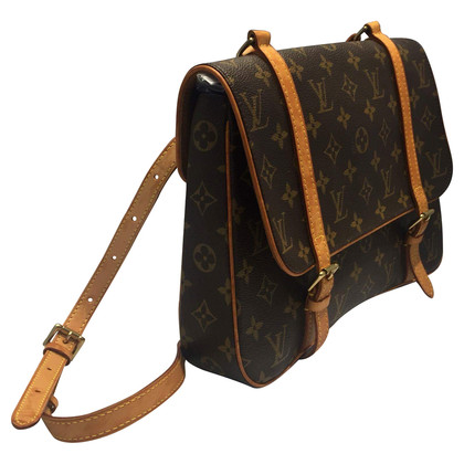 "Louis Vuitton ""Marelle"" from monogram of canvas backpack"