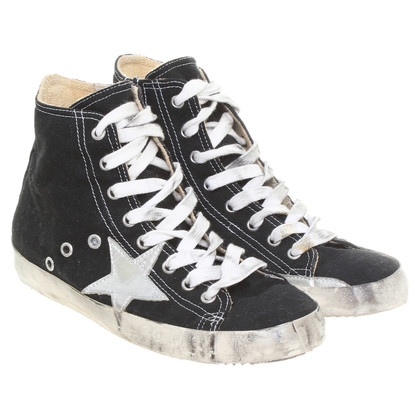 Leather Crown Sneakers with star