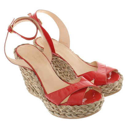 L.K. Bennett Sandals with wedge heel