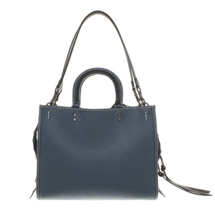 Coach Handbag in dark blue