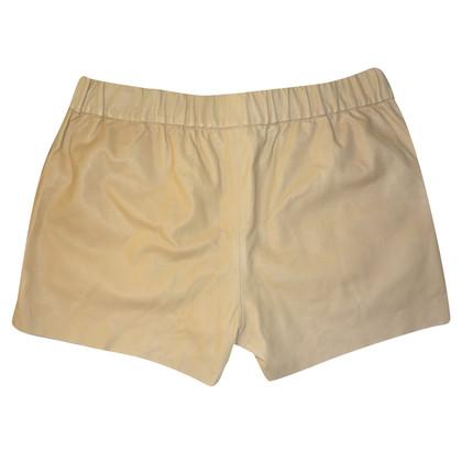 J Brand Pantaloncini in pelle di agnello