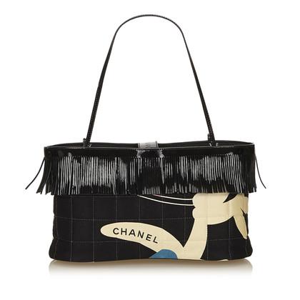 Chanel Fringed Choco Bar Tote