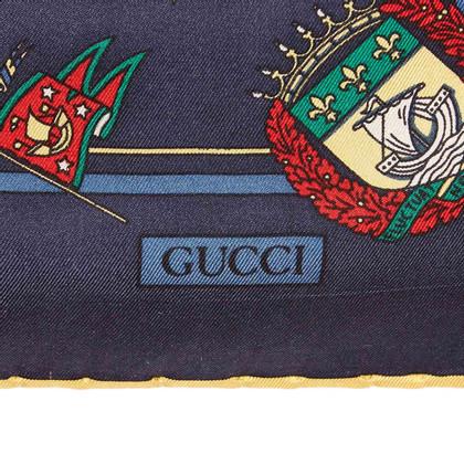 Gucci Gedruckter Seidenschal
