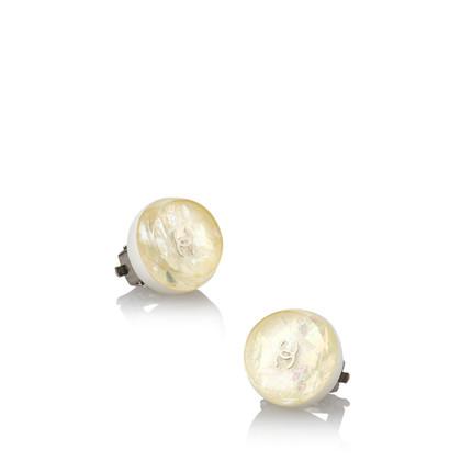 Chanel Resin Clip on Earrings