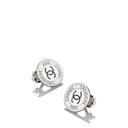 Chanel CC Clip On Earrings