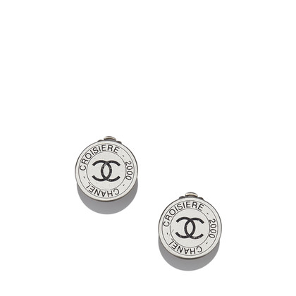 Chanel CC Clip On Ohrringe