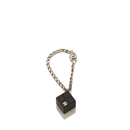 Chanel CC Resin Cube Bracelet