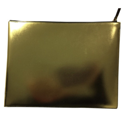 Céline Clutch in Gold