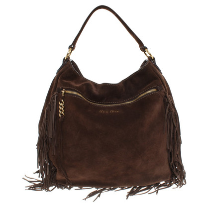 Miu Miu Shoulder bag made of suede