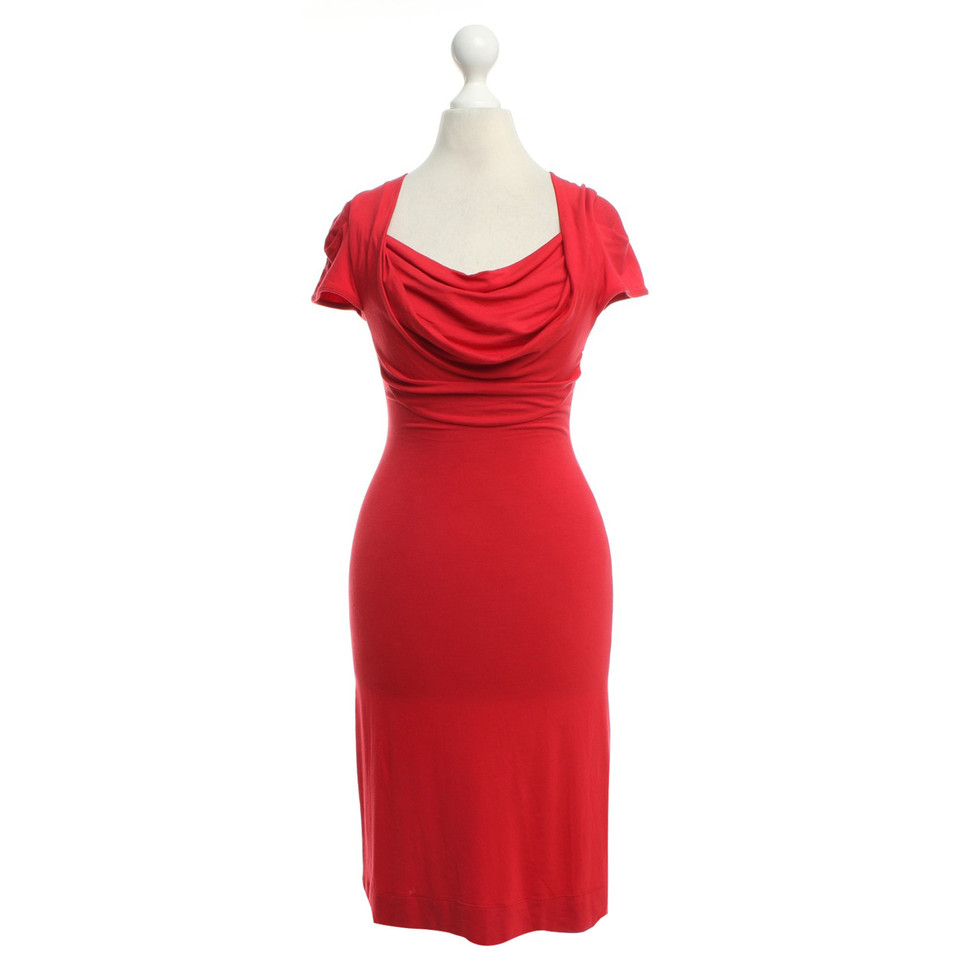 Vivienne Westwood Jersey dress in red