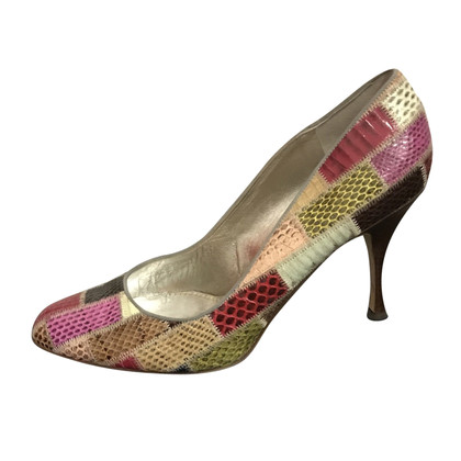 Dolce & Gabbana pumps from snake leather