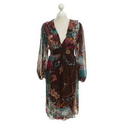 Blumarine Kleid mit floralem Muster