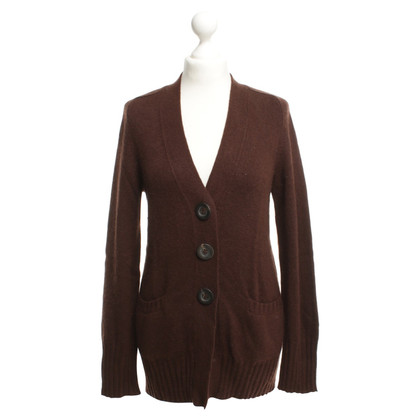 Iris von Arnim Cashmere Cardigan in Brown
