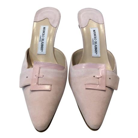 Manolo Blahnik Sandaletten Rosa / Pink Angebote Zum Verkauf Zahlen Mit Paypal Günstig Online ySYw4vA