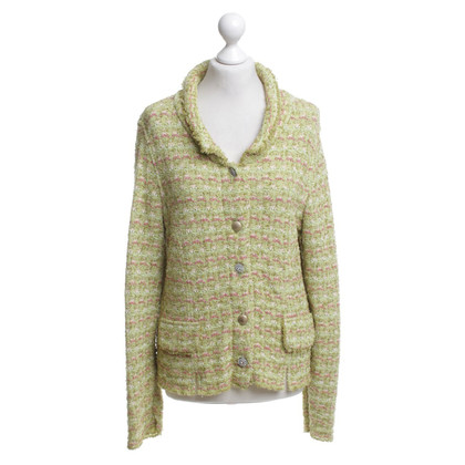 Marc Cain Cardigan with green pattern