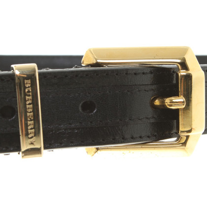 Burberry Black belt