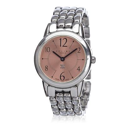 Céline Zilverkleurig horloge