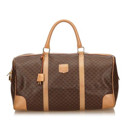 Céline PVC Macadam Duffel Bag