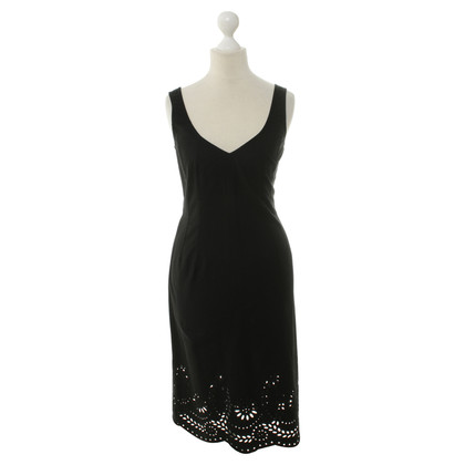 DKNY Cotton dress in black
