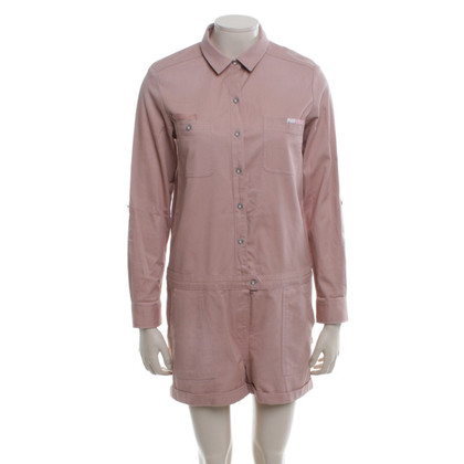 Maison Scotch Overall in blush pink