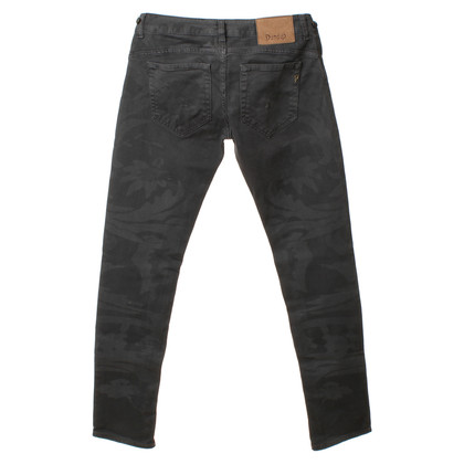 Dondup Jeans mit leichtem Muster