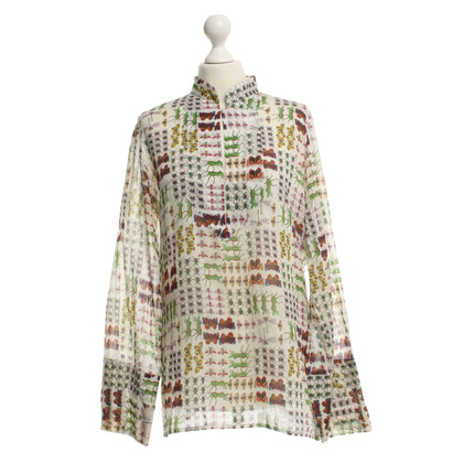 Gucci Blouse with insect pattern