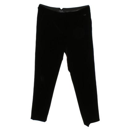 Escada Velvet pants in black