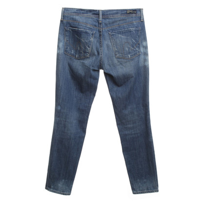 Citizens of Humanity Vernietigde jeans blauw