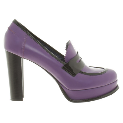Pollini Plateau pumps in Bicolor