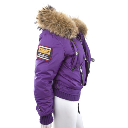 Dsquared2 Jacket with fur collar
